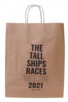 Маленький подарочный бумажный пакет THE TALL SHIPS RACES 2021