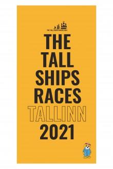 Пляжное полотенце желтого цвета из микрофибры THE TALL SHIPS RACES 2021