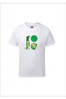 Детская футболка с логотипом лесной тематики