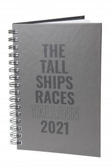 Записная книжка синего цвета THE TALL SHIPS RACES 2021