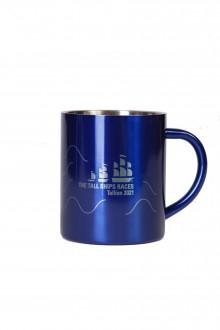 Металлическая кружка синего цвета TALL SHIPS 2021