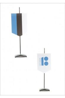 Вымпел с изображением флага Эстонии, с подставкой