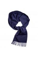 Шарф темно-синего цвета из шерсти альпака Great Natural Alpaca