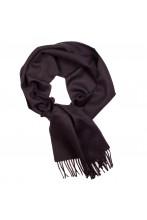 Шарф черного цвета из шерсти альпака Great Natural Alpaca