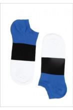 Укороченные хлопковые носки с цветами флага Эстонии