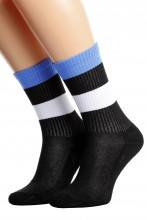 Хлопковые носки с эстонским флагом для женщин и мужчин ESTONIA