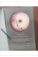 Календарь «Яблоко, оно как эстонец»