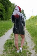 Jaanipäeva komplekt vihmamantli ja jalanõukaitsmetega