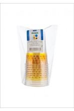 Пластиковые стаканчики Smile, желтый