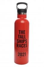 Питьевая бутылка красного цвета THE TALL SHIPS RACES 2021