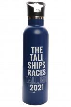 Питьевая бутылка синего цвета THE TALL SHIPS RACES 2021