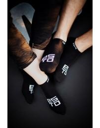 Низкие носки ESTO, цвет: чёрный
