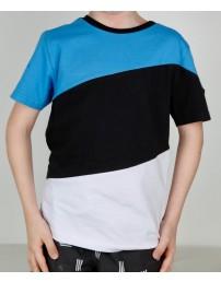 Детская футболка цветов флага ЭСТОНИИ