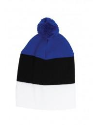 Шапка в цветах флага Эстонии