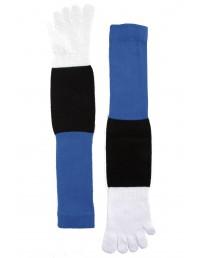 Пальчиковые носки в эстонских цветах для женщин и мужчин ESTONIA