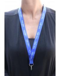 Синий ремешок на шею с надписью ESTONIA