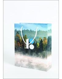 Бумажный подарочный пакет