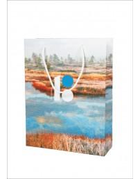 Подарочный пакет с изображением болота, комплект из 5 шт.
