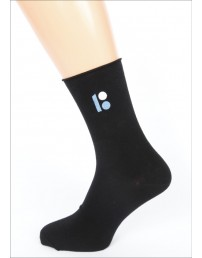 Мужские носки с вышитым логотипом ЭР100, в подарочной коробке