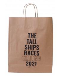 Большой подарочный бумажный пакет THE TALL SHIPS RACES 2021